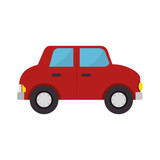 car toy kid isolated icon vector illustration design