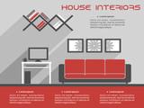 House interior design template