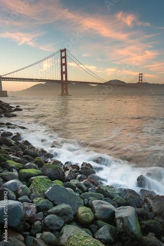 Beauty of Golden Gate Bridge © srongkrod