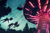 sillas voladoras en el cielo