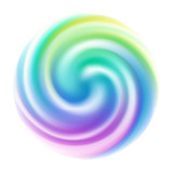 Colorful spiral blur swirl background. - 127583197