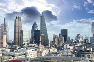 Niebo nad Londynem panorama