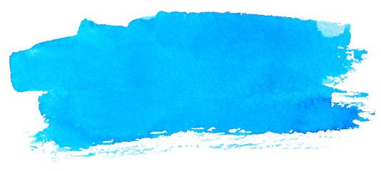 Blue watercolor paint © Nik_Merkulov