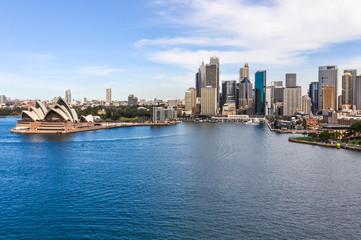 Fototapeta widok na operę w Sydney