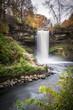 Minnehaha Falls in Autumn 2