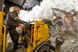 Gold mining underground - 127646354