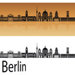 Berlin V2 skyline orange