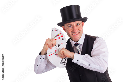 Plakát Kartenspieler