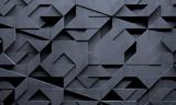 Futuristic Creative Dark Background - 127689925