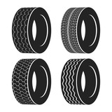 Bus rubber tire for wheel, truck or auto tyre