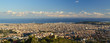 View of Barcelona city from Tibidabo.