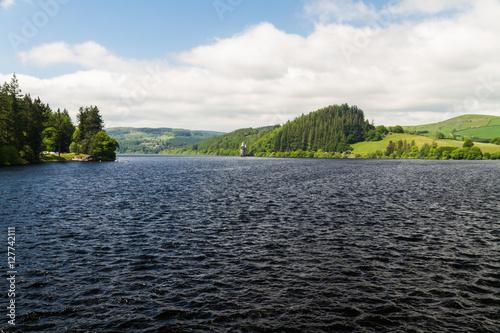 Lake Vyrnwy reservoir dam Poster