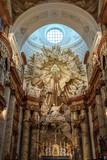 Altar Karlskirche St Charles Church Vienna
