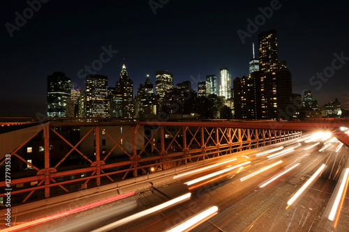 Poster Manhattan la nuit