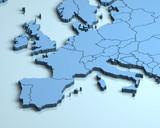 Europe 3D - 127814983