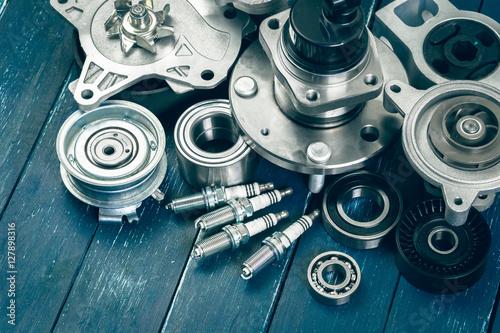 obraz lub plakat Various car parts
