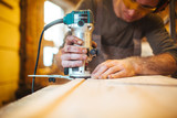Electric woodworking
