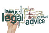 Legal advice word cloud
