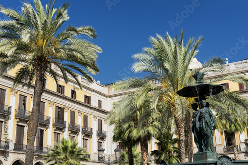 Poster Barcelona (Spain): Royal Square