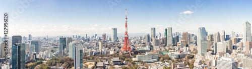 Canvas Tokio Tokyo Tower, Tokyo Japan