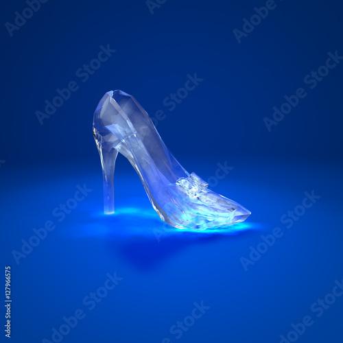 Plakat Cinderella crystal slipper