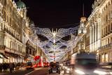 Fototapety Christmas lights 2016 in Mayfair, London