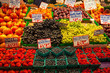 Produce at Pike Place Market Seattle Washington