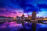Strasbourg Alsace Petite France at sunrise