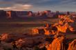 Hunts Mesa navajo tribal majesty place near Monument Valley, Ari