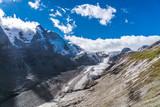Österreichs höchster Berg Großglockner (3798 Meter) mit Gletscher