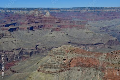 Poster Arizona, USA - july 7 2016 : the Grand Canyon