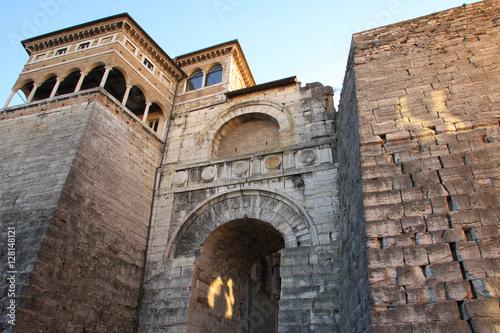 Plakat Perugia, arco di Augusto