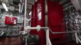 Foam room of very large crude oil tanker.