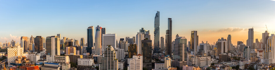 Fototapeta Bangkok o wschodzie słońca