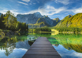 Mountain lake - 128280986