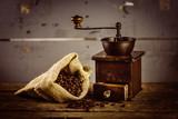 Fototapety Alte rustikale Kaffeemühle