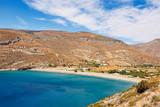 Spathi beach in Kea, Greece - 128290758