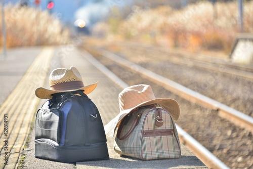 Papiers peints Voies ferrées 鉄道の旅