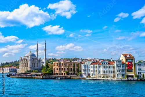Ortakoy mosque, Istanbul, Turkey Poster