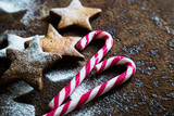 Holiday sweets, cookies and candy