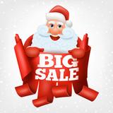 Big sale santa claus christmas card
