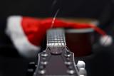 Acoustic guitar and Santa