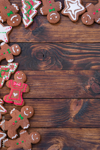 Poster Homemade Gingerbread Cookies for Christmas