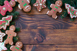 Homemade Gingerbread Cookies for Christmas