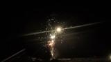 Bright beautiful fireworks