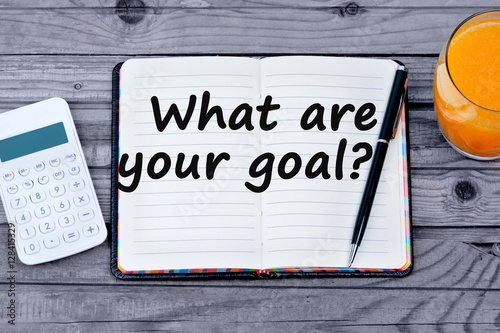 Poster Question What are your goal
