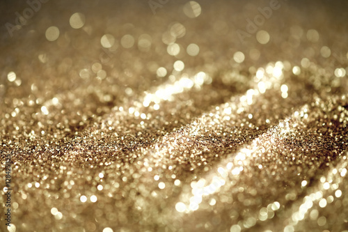 Fotobehang Stof Textured abstract background Glitter gold and elegant.