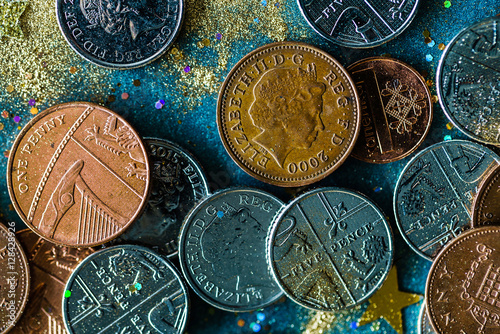 Poster english coins