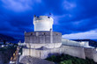 Minceta Tower - the highest point in the Dubrovnik defence system. Croatia