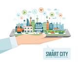 Fototapety Smart city